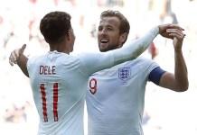 Harry Kane scored the winner as England beat Nigeria 2-1 at Wembley in an international friendly match