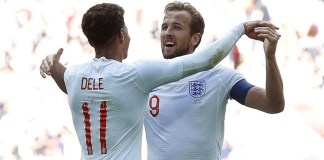 Harry Kane scored the winner as England beat Nigeria 2-1 at Wembley in an international friendly match
