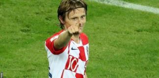 Luka Modric scored from the spot as Croatia beat Nigeria 2-0