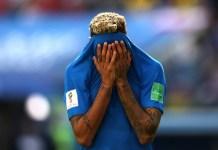 Neymar in tears after Brazil beat Costa Rica 2-0