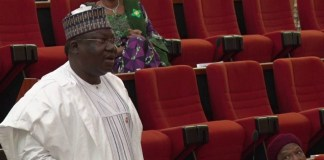 Senate leader Ahmad Lawan is favourite to emerge Senate President in the 9th National Assembly
