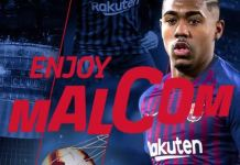 Barcelona sign Malcom from Bordeaux on a five year deal