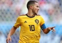 Eden Hazard scored twice to help Belgium beat Russia 3-1 in Euro 2020 qualifiers