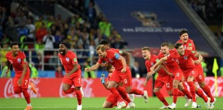 England beat Colombia on penalties to reach the last eight