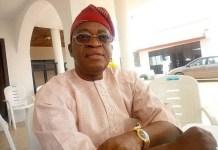 Governor Isiaka Gboyega Oyetola