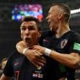 Mario Mandzukic scored the winner as Croatia beat England in the semi final