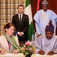 Nigeria and France have signed a $475m deal that includes provision of potable water and support for Lagos urbanization drive