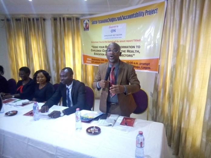 SERAP's Executive Director, Mr Adetokunbo Mumuni
