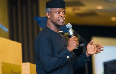 Vice President Yemi Osinbajo, SAN is celebrating Easter with Christians across Nigeria