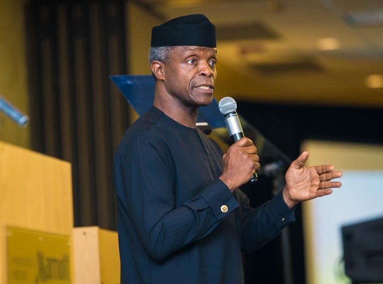 Vice President Yemi Osinbajo, SAN says Nigeria needs honest leaders