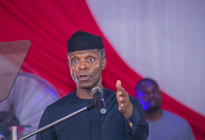 Vice President Yemi Osinbajo has submitted his asset declaration form