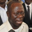 Comrade Adams Oshiomhole national chairman of the APC says Senate President Bukola Saraki is irresponsible