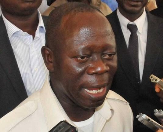 Comrade Adams Oshiomhole, national chairman of the APC