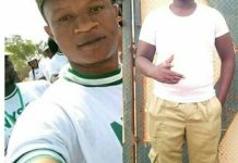 L-R Chike Melvin Ijeh and Joshua among the drowned NYSC members in River Mayo-Selbe in Gashaka, Taraba