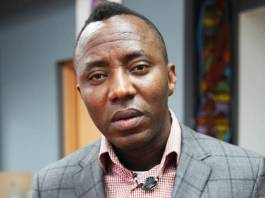Omoyele Sowore has suspended as AAC national chairman