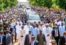 Presidency says President Muhammadu Buhari is ready for second term after walking 800 meters