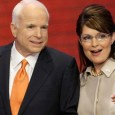 Running mate Sarah Palin has been banned from attending Senator John McCain's funeral
