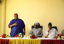 Atiku Abubakar has inaugurated his presidential nomination council led by Chief Emmanuel Iwuanyanwu