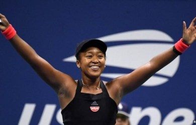 Naomi Osaka beat Madison Keys to reach the final of the #USOpen