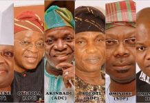 Osun State governorship aspirants