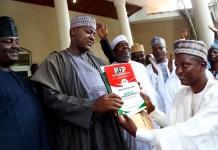 Speaker of the House of Representatives Yakubu Dogara has dumped the ruling APC for PDP