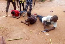 Police interrogate PDP thugs arrested in Osogbo as PDP agent failed to show up in Ile-Ife