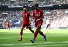 Roberto Firmino scores as Liverpool beat Tottenham 1-0