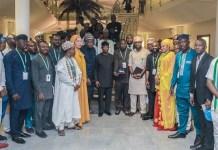Vice President Yemi Osinbajo met with young APC aspirants in Abuja