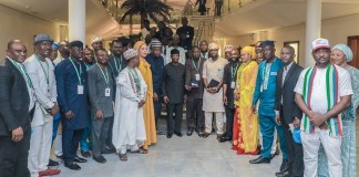 Vice President Yemi Osinbajo met with young APC aspirants in Abuja