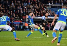 Angel di Mari has scored goals in his last games for PSG at home in the Champions League