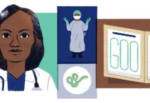 Ebola hero Dr. Stella Adedavoh has been honoured by Google doodle