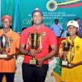 First placed Okeke Tony Kabilan (centre), second placed Igban Emmanuel (left) and 3rd Alikah Joseph Ehiagwina (right)