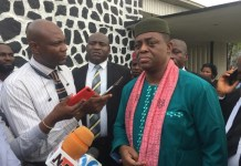 Femi Fani-Kayode has apologised for comments made to a journalist
