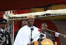 Governor Kayode Fayemi appointed his COS, SSG and CPS shortly after he was sworn-in on Tuesday