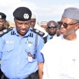 Kaduna State Commissioner of Police, Abdulrahman and Governor Nasir El-Rufai at Kasuwan Magani, where the fresh violence occurred