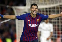 Luis Suarez scored twice as Barcelona came from behind to beat Inter Milan