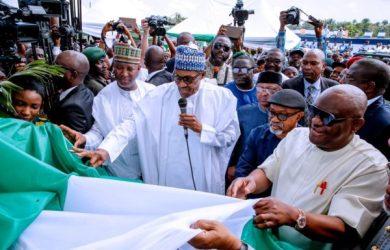 President Muhammadu Buhari commissions new Port Harcourt airport terminal