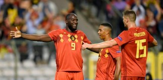 Romelu Lukaku scored twice as Belgium beat San Marino 9-0