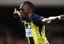 Usain Bolt scored twice on his first start for the Central Coast Mariners