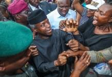Vice President Yemi Osinbajo takes TraderMoni to Ikotun, Igando and Ile-Epo markets in Lagos