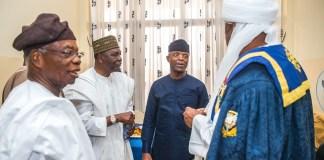 Vice President Yemi Osinbajo attends University of Ibadan 70th Foundation Ceremony