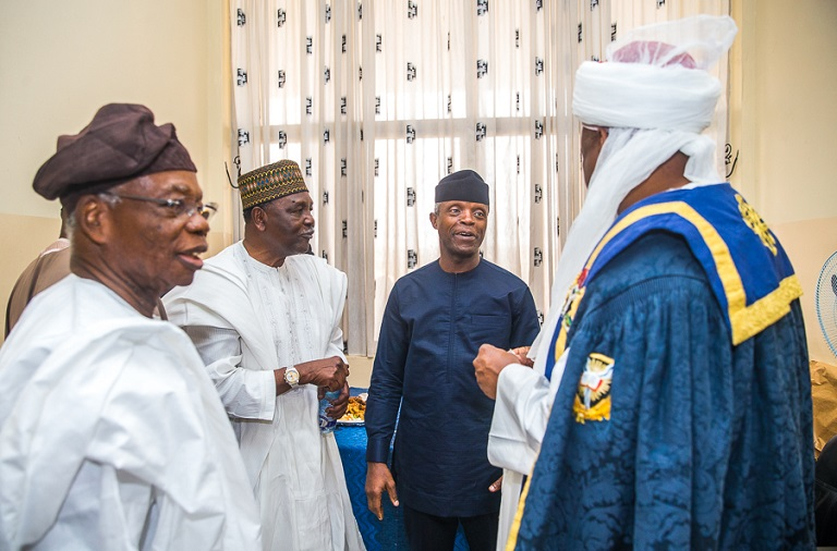Vice President Yemi Osinbajo attends University of Ibadan 70th Foundation Ceremony