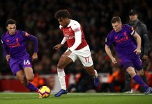 Alex Iwobi is a late transfer target for Everton