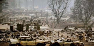 At least 66 persons have been confirmed dead in California Wildfires