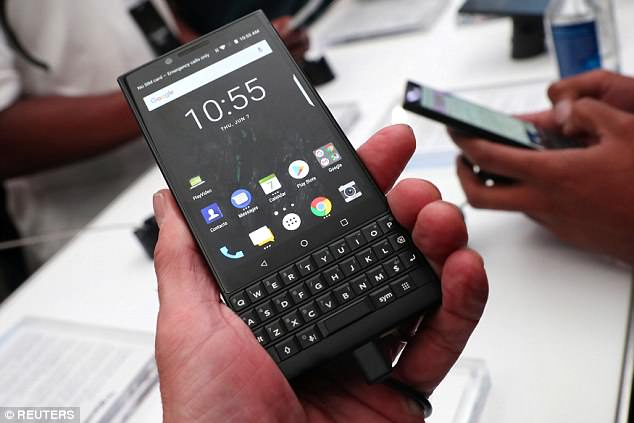 BlackBerry Android phone Key2 has been unveiled in Nigeria