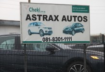EFCC has recovered 29 exotic cars from Astrax Autos in Lagos