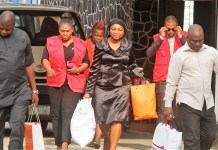 Ifeoma Okpalugo, an Assistant Commissioner of Police, ACP, (retd.); Olumide Odumosu, Suleiman Yusuf Tegina and Helen Nwafor were arraigned for fraud by EFCC