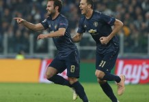 Juan Mata scored a stunning free kick to draw Manchester United level against Juventus in Turin