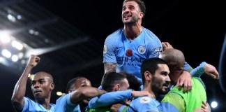 Manchester City beat Manchester United 3-1 at the Etihad Stadium