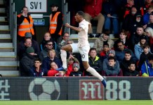 Marcus Rashford scored an injury-time winner as Manchester United came from behind to beat Bournemouth